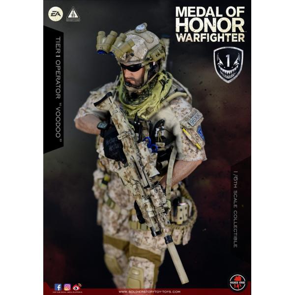 Soldier Story SS106 1/6スケール可動フィギュア メダル・オブ・オナー ウォーファイター ネイビーシールズ ブードゥー|wild|04