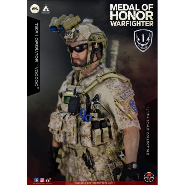 Soldier Story SS106 1/6スケール可動フィギュア メダル・オブ・オナー ウォーファイター ネイビーシールズ ブードゥー|wild|07