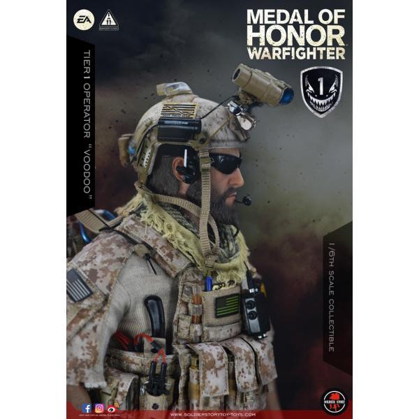 Soldier Story SS106 1/6スケール可動フィギュア メダル・オブ・オナー ウォーファイター ネイビーシールズ ブードゥー|wild|08