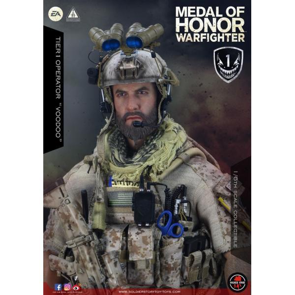 Soldier Story SS106 1/6スケール可動フィギュア メダル・オブ・オナー ウォーファイター ネイビーシールズ ブードゥー|wild|09