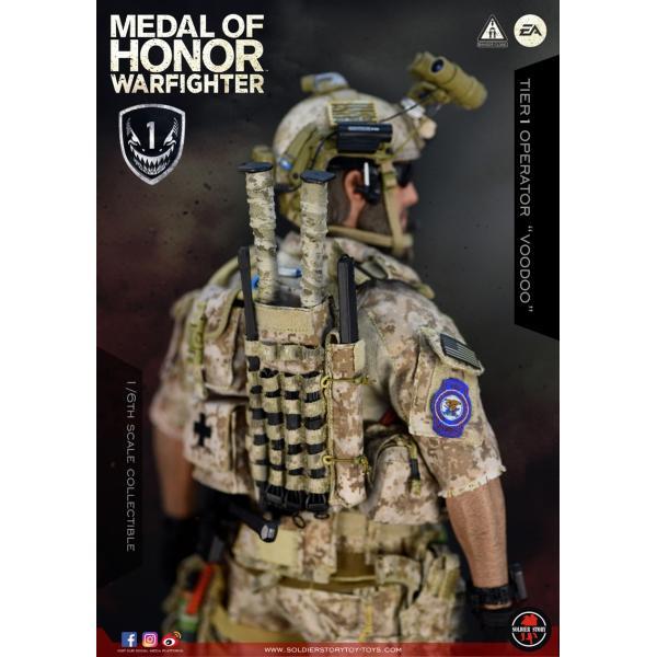 Soldier Story SS106 1/6スケール可動フィギュア メダル・オブ・オナー ウォーファイター ネイビーシールズ ブードゥー|wild|10