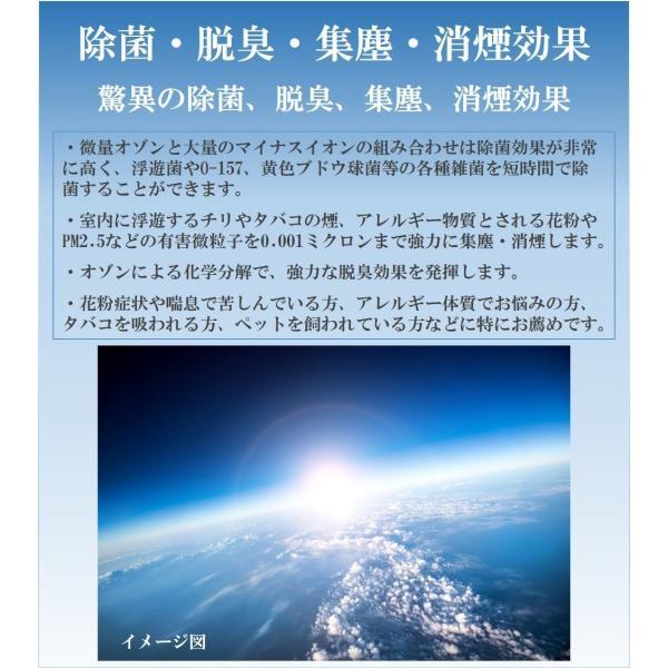 サリール(空気清浄器)(KO-108W) 除菌・消臭・集塵に フィルター交換不要で経済的