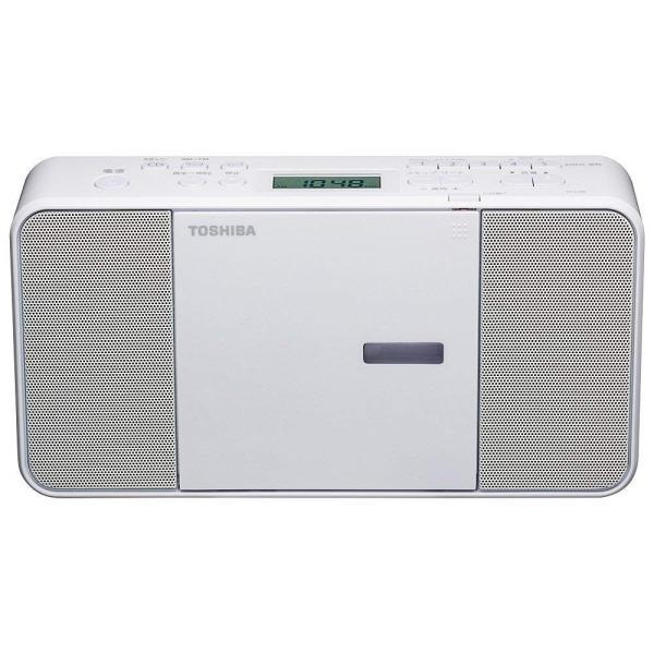 TOSHIBA(東芝) CDラジオ TY-C250-W (ホワイト)