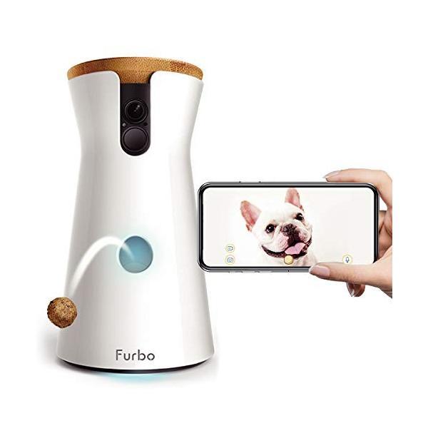 Furbo ドッグカメラ : ペットカメラ 飛び出すおやつ 写真 動画 双方向会話 犬 留守番 iOS Android AI通知|wildfang