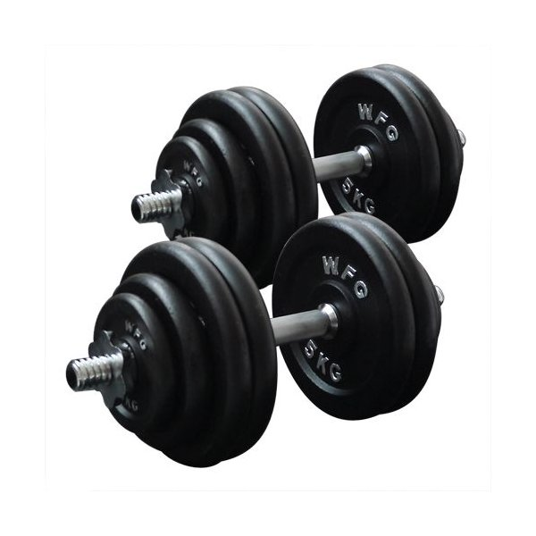 ダンベルセット 60kg アイアン / 筋トレ ベンチプレス バーベル トレーニング器具 腹筋 フラットベンチ 上腕三頭筋