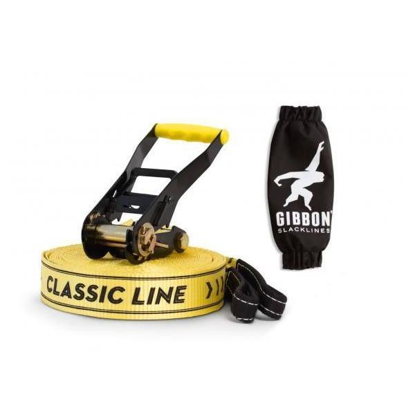 2点セット GIBBON CLASSIC LINE X13 15m イエロー + ツリーウェアー SLACKLINES スラックライン 日本正規品|will-be-mart|04
