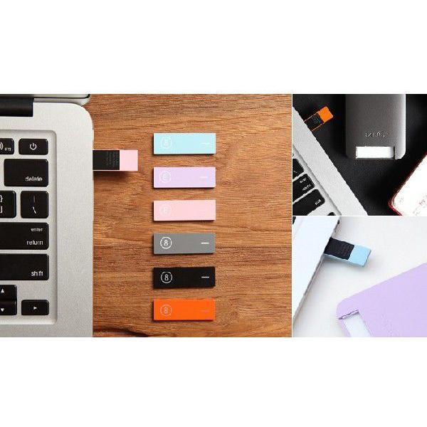 iPhone SE 5s/5 ケース LAB.C 105 USB Case iPhone5 USBメモリー8GB付 ホワイト/ピンク 保護フィルム、ホームボタンシール同梱|will-be-mart|02