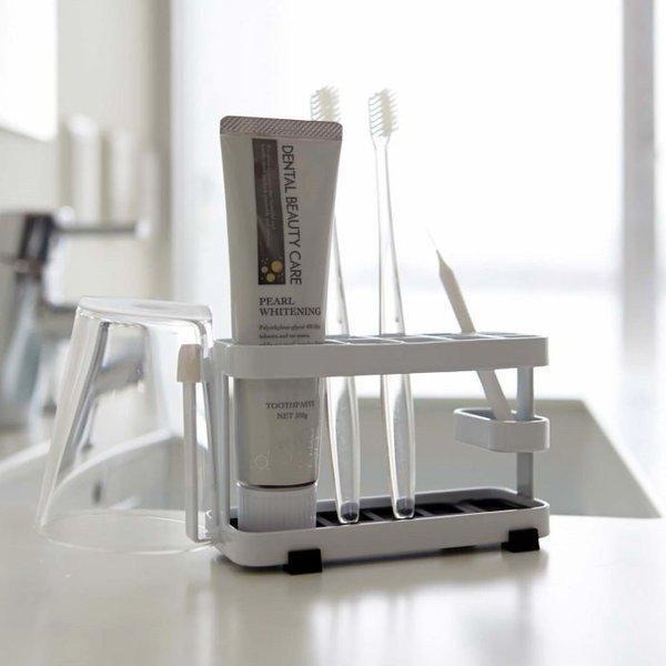 洗面用品 歯ブラシスタンド 歯ブラシ立て 歯ブラシホルダー 歯ぶらし立て タワー インテリア 雑貨 Tower トゥースブラシスタンドタワーワイド