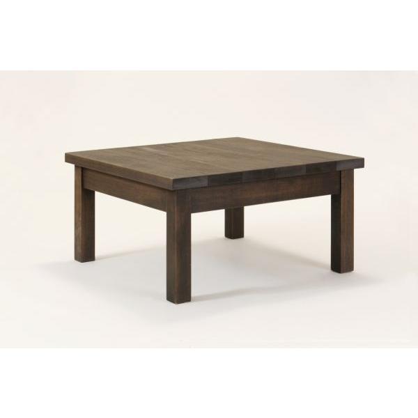 匠のガーデンテーブル 60cm×60cm×希望高さ30〜40cm ブラウン 無垢 天然木製 ローテーブル ベランダ 日本製 完成品
