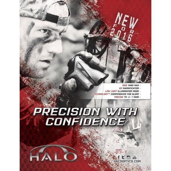 Halo Ballistic Zir1000 Rangefinder レンジファインダー(距離計) [並行輸入品]