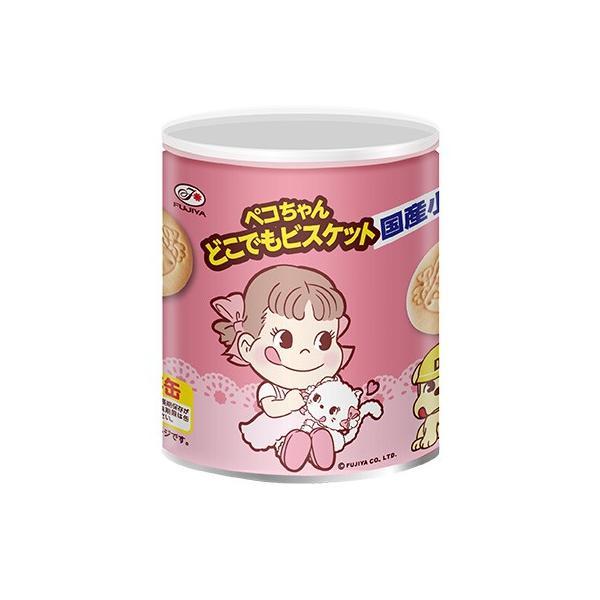 非常食 不二家 ペコちゃんどこでもビスケット保存缶 100g(賞味期限2026年1月31日)