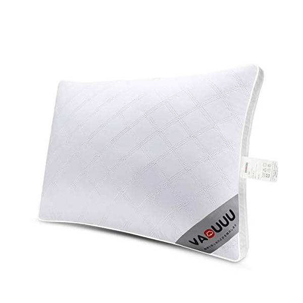 VADUUU 枕 安眠 人気 肩こり対策 安眠枕 高反発 まくら 快眠枕 首・頭・肩をやさしく支える健康枕 高級ホテル仕様 マクラ 立体構造|willy-willy-zakka