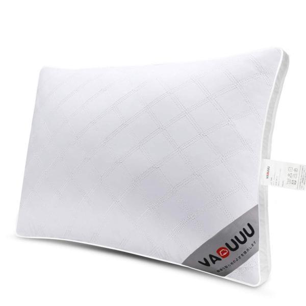 VADUUU 枕 安眠 人気 肩こり対策 安眠枕 高反発 まくら 快眠枕 首・頭・肩をやさしく支える健康枕 高級ホテル仕様 マクラ 立体構造|willy-willy-zakka|02