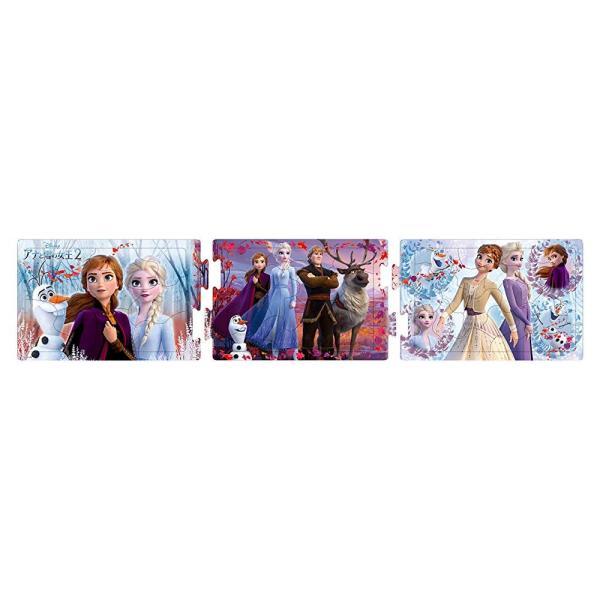 10+15+20ピース 子供向けパズル アナと雪の女王2 ひらめき脳 【ステップパノラマパズル】 wind-moon2ys 02