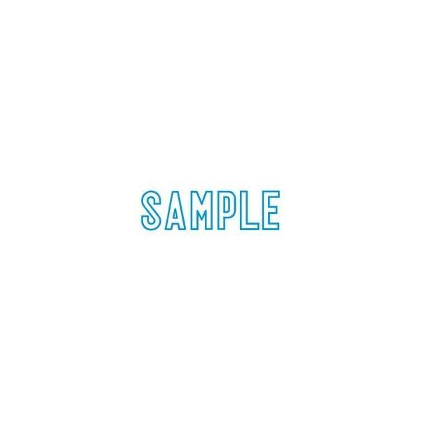 (業務用5セット) シヤチハタ Xスタンパー/ビジネス用スタンプ 〔SAMPLE〕 藍 XBN-10023