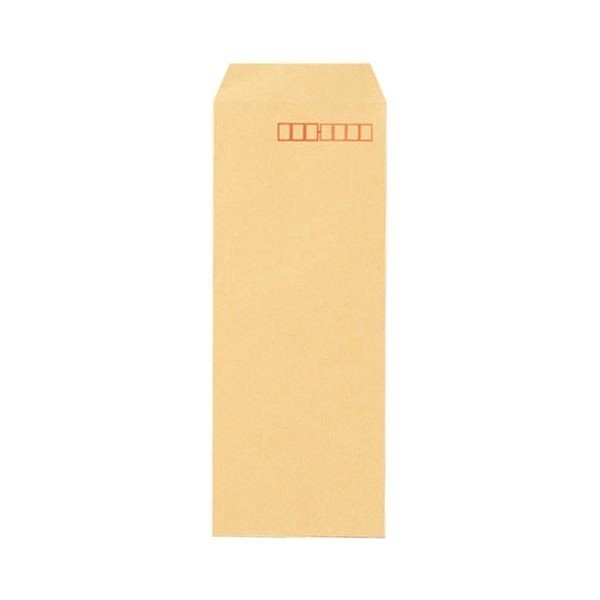 (まとめ) 寿堂 FSCクラフト封筒 長40 70g/m2 〒枠あり 業務用パック 511 1箱(1000枚) 〔×2セット〕