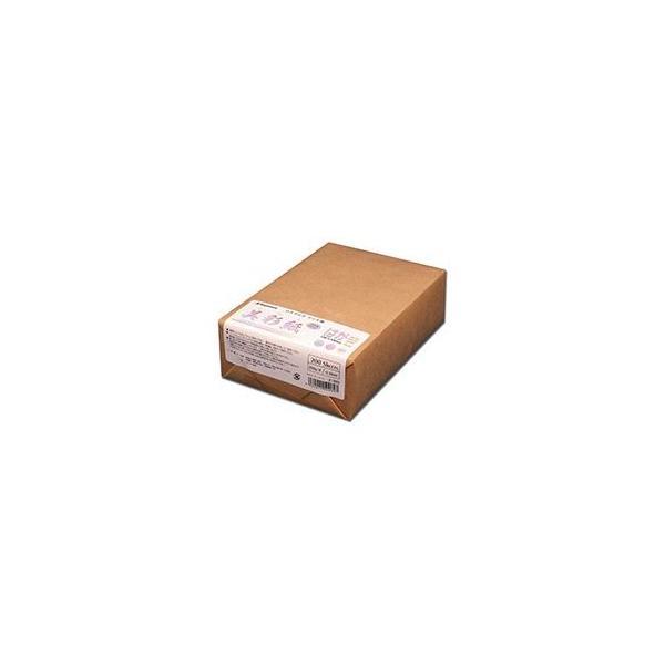 (まとめ) 長門屋商店 OAマルチケント紙 美彩紙 はがきサイズ ナ-969 1パック(200枚) 〔×5セット〕