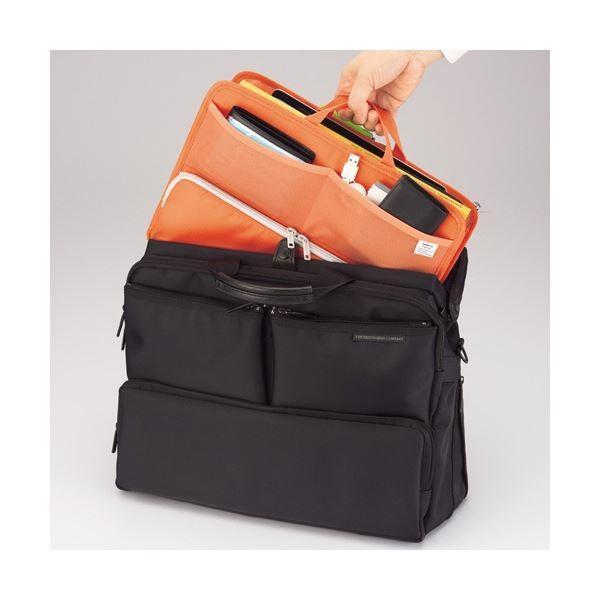 (まとめ)リヒトラブ SMART FITbright label スタンドポケット (ヨコ型) B4 ブラック A-7665-24 1個〔×2セット〕