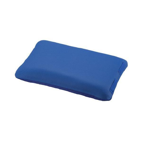 入浴サポートクッションII(枕型小)ブルー