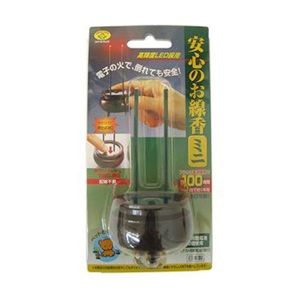 (まとめ)旭電機化成 安心のお線香ミニ ブラウンASE-5201DB 1個〔×5セット〕