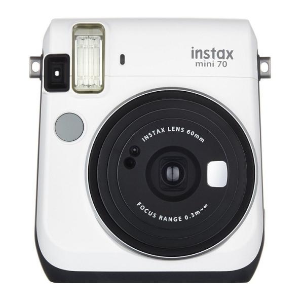 フジフイルム インスタントカメラ instax mini 70N 「チェキ」 ホワイトの画像