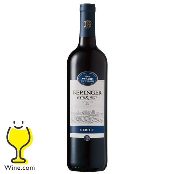 ワイン よりどり6本送料無料  ベリンジャー ヴィンヤーズ カリフォルニア・メルロー 750ml カリフォルニアワイン|wine-com