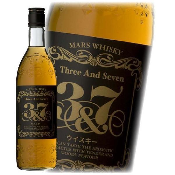洋酒 国産ウイスキー whisky マルスウイスキー 3&7 720ml|wine-com