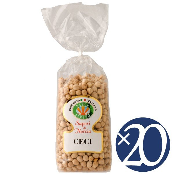 チェーチ(ヒヨコ豆)/カステッルッチョ協同組合 500g×20袋 (豆類)