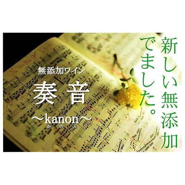 信濃ワイン 奏音(かのん) KANON コンコード 赤 甘口 720ml wineclubsato 03