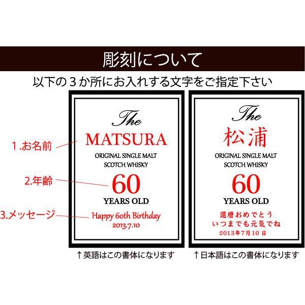 名入れウイスキー ザ・マッカラン 12年  700ml |winekatayama|04