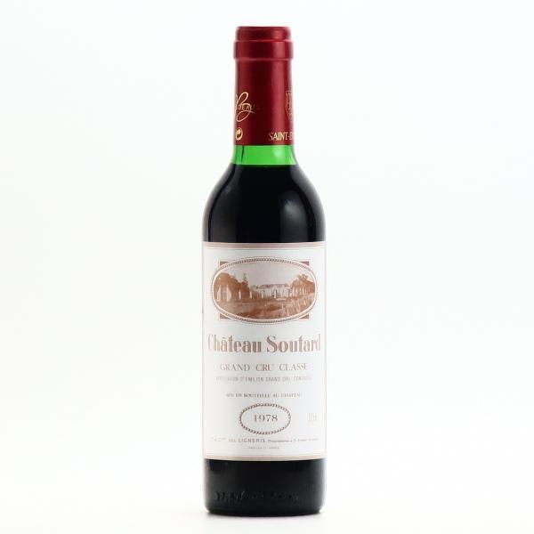 シャトー スータール サンテミリオン グラン クリュ クラッセ 1978 375ml 赤ワイン フルボディ ハーフボトル プレゼント おすすめ|wineplaza-yunoki|02