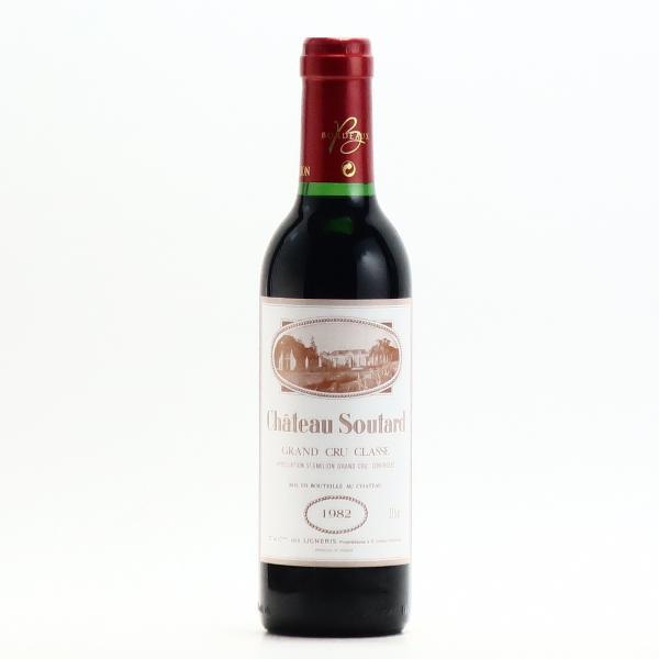 シャトー スータール サンテミリオン グラン クリュ クラッセ 1982 375ml 赤ワイン フルボディ ハーフボトル プレゼント おすすめ|wineplaza-yunoki|02