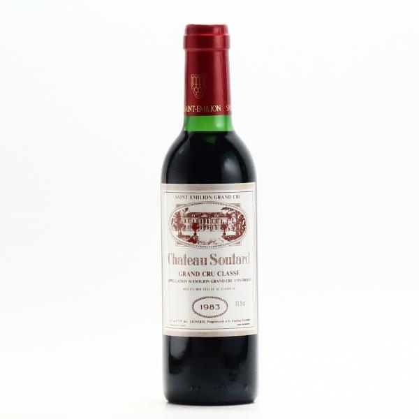 シャトー スータール サンテミリオン グラン クリュ クラッセ 1983 375ml 赤ワイン フルボディ ハーフボトル プレゼント おすすめ|wineplaza-yunoki|02