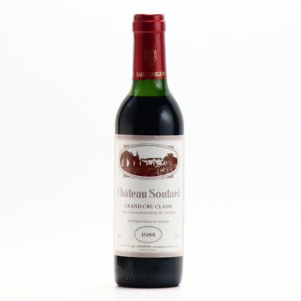 シャトー スータール サンテミリオン グラン クリュ クラッセ 1988 375ml 赤ワイン フルボディ ハーフボトル プレゼント おすすめ|wineplaza-yunoki|02