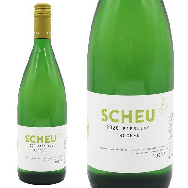 ヴァインホフ・ショイリースリングトロッケン2019年1.0L(ドイツ白ワイン)