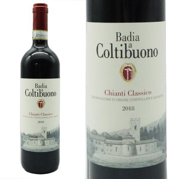 キャンティクラシコ2018年バディアアコルティブオーノ元詰750mlイタリア赤ワイン