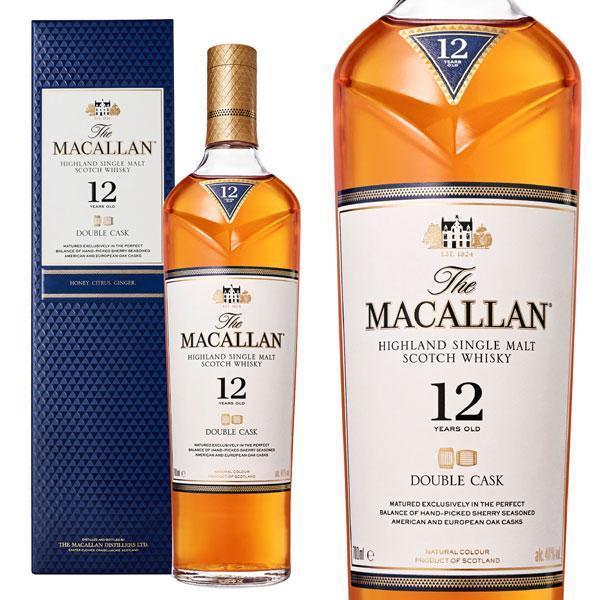 ザ・マッカラン  ダブルカスク  12年  40%  700ml  箱入り  正規  (シングルモルトスコッチウイスキー)  家飲み  巣ごもり