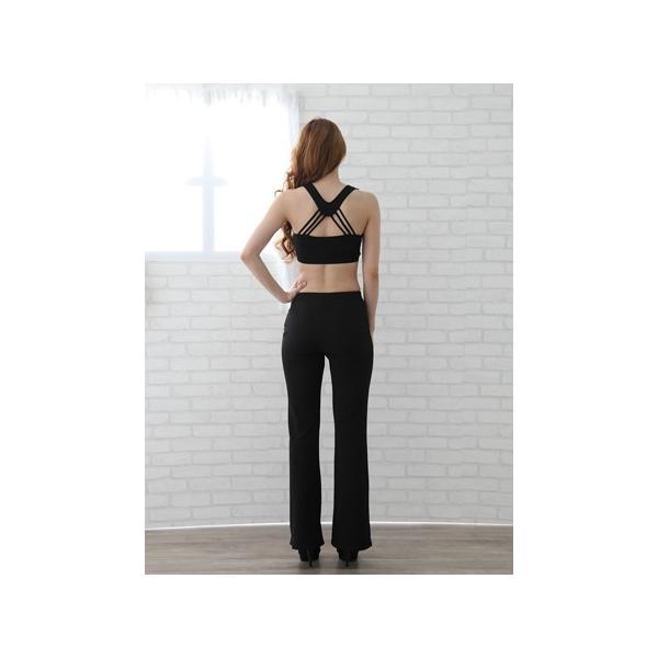 ジャズパンツ 社交ダンス ストレッチパンツ 衣装 オーバースカート パニエ ダンスウェア  S,M,L,LLサイズ|wing12|02