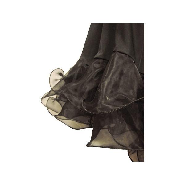 社交ダンス 演奏会 コーラス カラオケ アクセサリー 小物 ベルト ネックレス 首飾り レディース コーラス衣装 演奏会衣装 黒:70cm丈or80cm丈|wing12|05