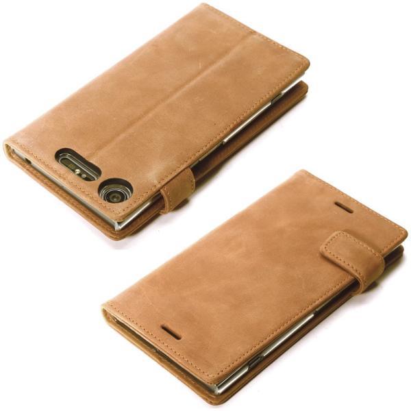 ... Xperia XZ1 ケース 手帳 本革 レザー Zenus Vintage Diary エクスペリアXZ1 カバー 手帳型  XperiaXZ1 ... caeea08e34ce4