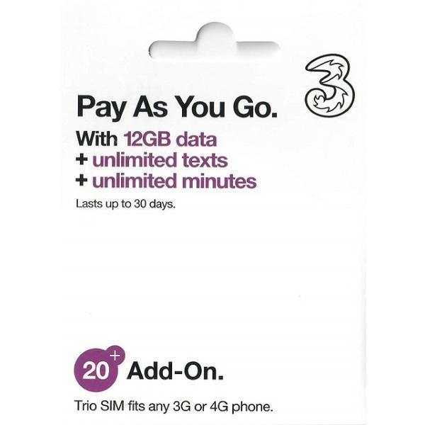 ヨーロッパ・オーストラリア・ニュージーランド・インドネシア周遊SIM 4G・3Gデータ通信12GB wise-sim-thai