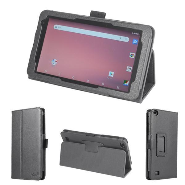 wisers タブレットケース KEIAN 恵安 KI-R7 7 インチ タブレット 専用 ケース カバー [2019年 新型] 全2色 ブラック・ダークブルー