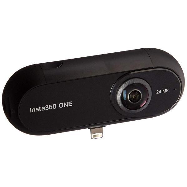 Insta360 ONE 360度 全天球 アクションカメラ, 24MP (7K) 写真 4Kビデオ 超広角 魚眼 レンズ iPhone 6