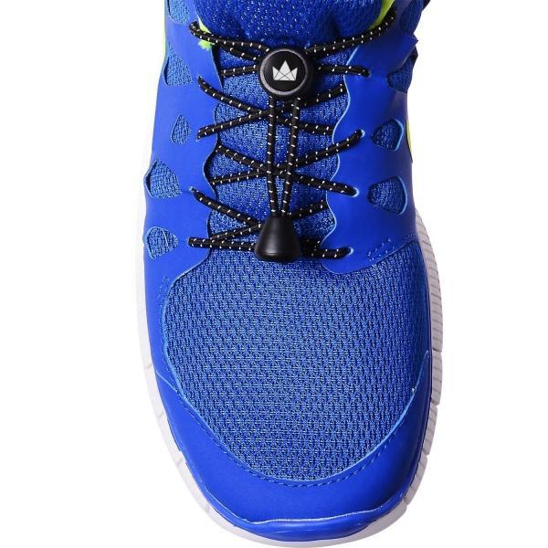 The Friendly Swede 結ばない 靴紐 5ペア 反射素材 レースロック 120cm