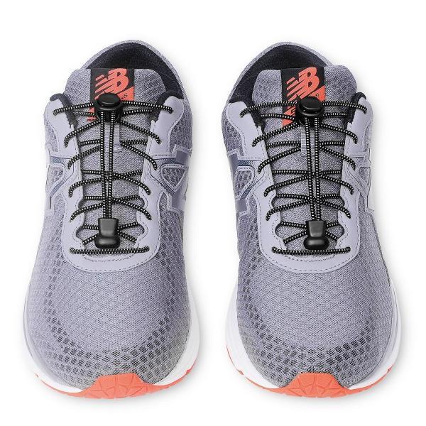 Neo-wows 「3足」結ばない靴ひも,靴の着脱を簡単に レースロック 伸縮するワンタッチゴム靴紐 お子様、大人、ご高齢者、アスリート、靴