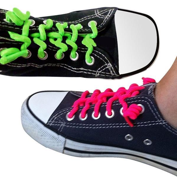 ATPC Japan カーリー靴ひも 最強のフィット感 むすばない ほどけない ゆるまない ウルトラフィット スプリング形状の伸びるゴム製靴