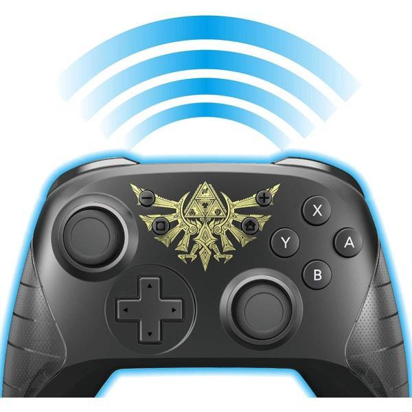任天堂ライセンス商品ワイヤレスホリパッド for Nintendo Switch ゼルダの伝説Nintendo Switch対応|wish4545|05