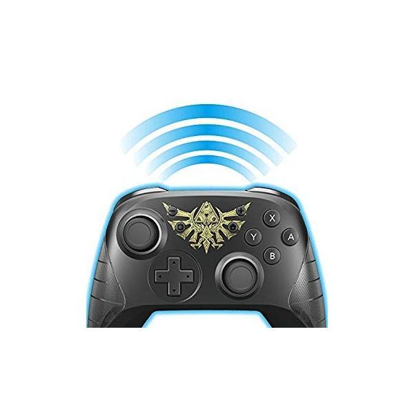 任天堂ライセンス商品ワイヤレスホリパッド for Nintendo Switch ゼルダの伝説Nintendo Switch対応|wish4545|06