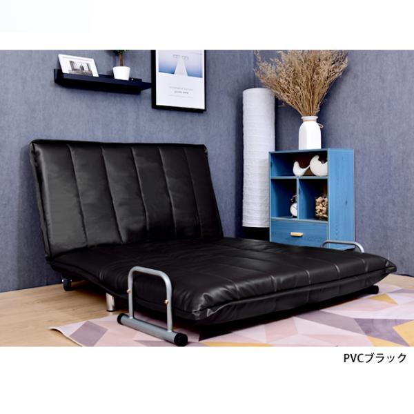 ソファ ソファベッド 洗えるソファー幅120cmキャスター付き セミダブル カバーリング  安いコンパクトソファー2人掛け 折りたたみ おしゃれ 開梱設置無料|with-sofa|14