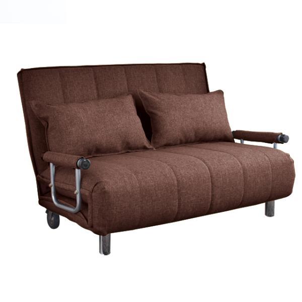 ソファ ソファベッド 洗えるソファー幅120cmキャスター付き セミダブル カバーリング  安いコンパクトソファー2人掛け 折りたたみ おしゃれ 開梱設置無料|with-sofa|17